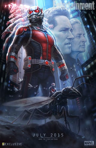 Illustration for article titled At Last, an Official Ant-Man Movie Poster!