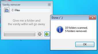 Illustration for article titled Folder Vanity Remover Cleans Up Empty, Unused Folders
