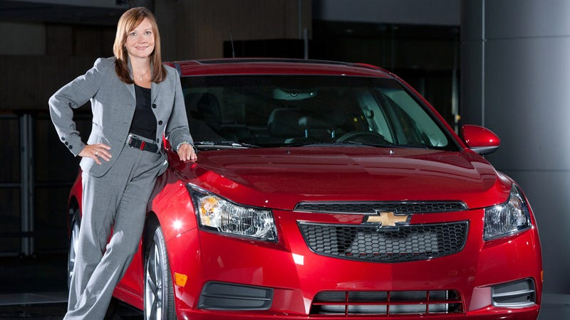 Illustration for article titled GM's New Top Car Guy Is Named Mary Barra