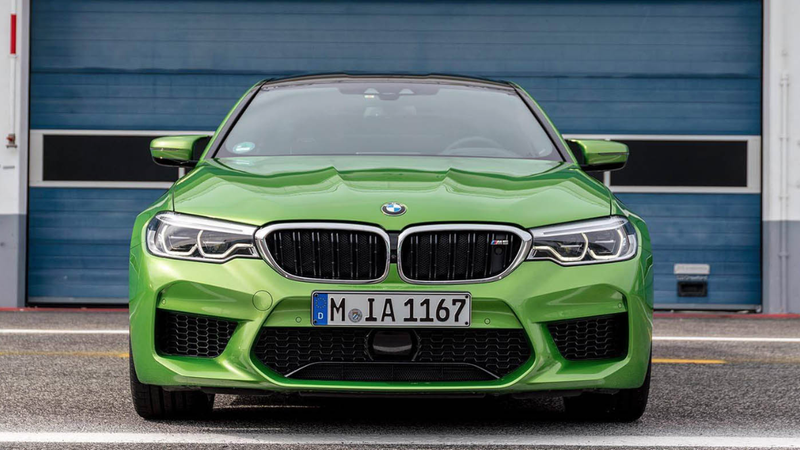 Illustration for article titled The 2018 BMW M5 Brings Back Color And Life Just Got A Little Better
