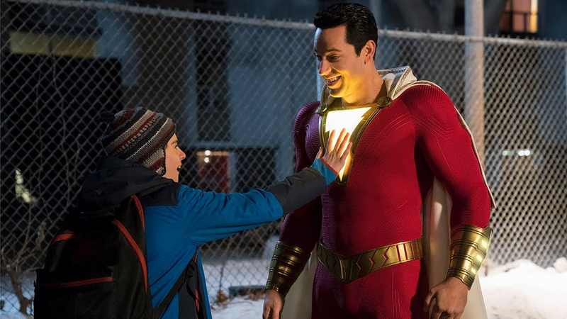 Shazam, with a nice little glow that (apparently) isn't finished.