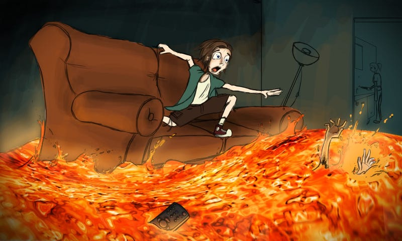 Illustration for article titled The Floor is Lava