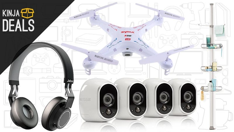 Illustration for article titled Today's Best Deals: Jabra MOVE, Arlo Security System, $39 Drone, and More