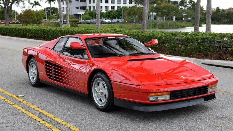Illustration for article titled At $99,500, Is This 1986 Ferrari Testarossa a 'Grate' Deal?