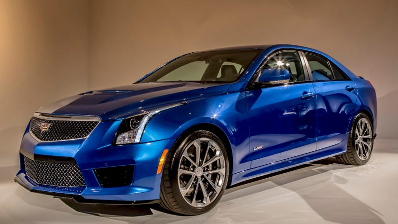 2016 cadillac ats v everything you need to know. Black Bedroom Furniture Sets. Home Design Ideas