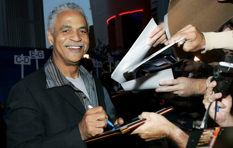 Ron Glass signs autographs at the Universal Pictures premiere of Serenity, held at Universal Studios in Los Angeles on Sept. 22, 2005.Frazer Harrison/Getty Images