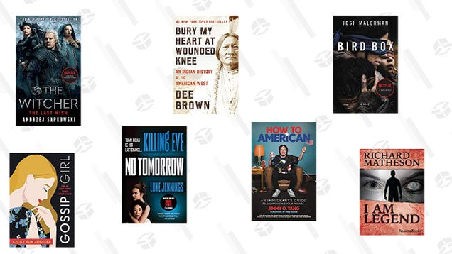 Today Only, Save Big on Kindle eBooks That Were Adapted into Shows and Movies