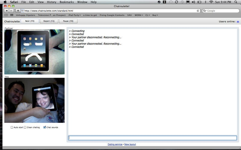 gay chatroulette ipad