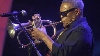 South African trumpeter, composer and singer Hugh MasekelaPIUS UTOMI EKPEI/AFP/Getty Images