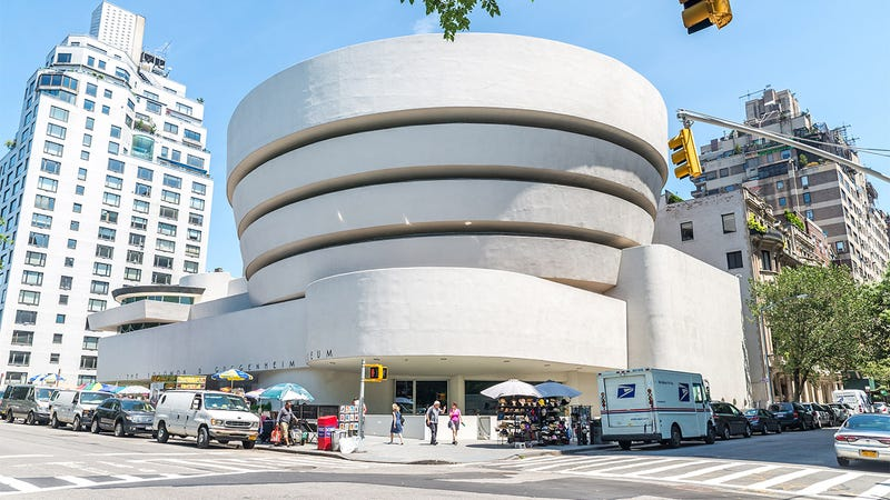Illustration for article titled Long Overdue Repairs: The Guggenheim Museum Has Finally Raised Enough Money To Make Their Building Normal