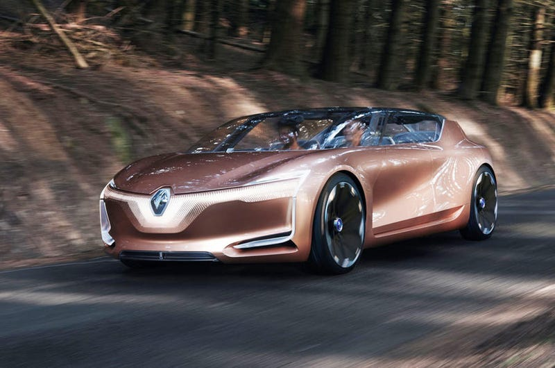 Illustration for article titled Renault Symbioz is the latest in avant garde design