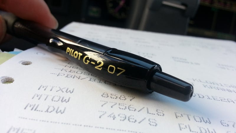 Illustration for article titled Pilots favorite pens are Pilot.