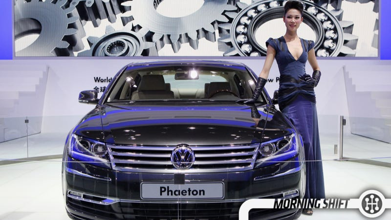 the vw phaeton is coming back in 2018. Black Bedroom Furniture Sets. Home Design Ideas