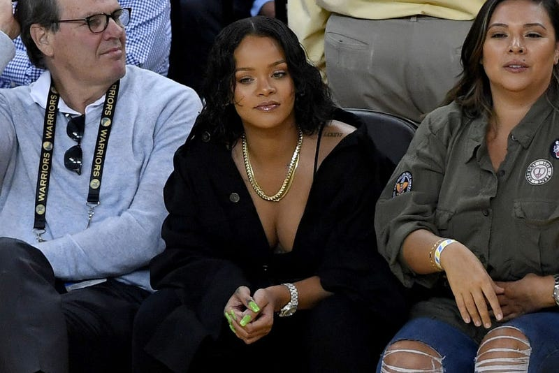 Rihanna, center (Thearon W. Henderson/Getty Images)