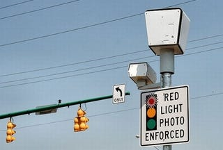 """Illustration for article titled Georgia Lawyer Orders Five Traffic Cameras To """"Show Up"""" In Court"""