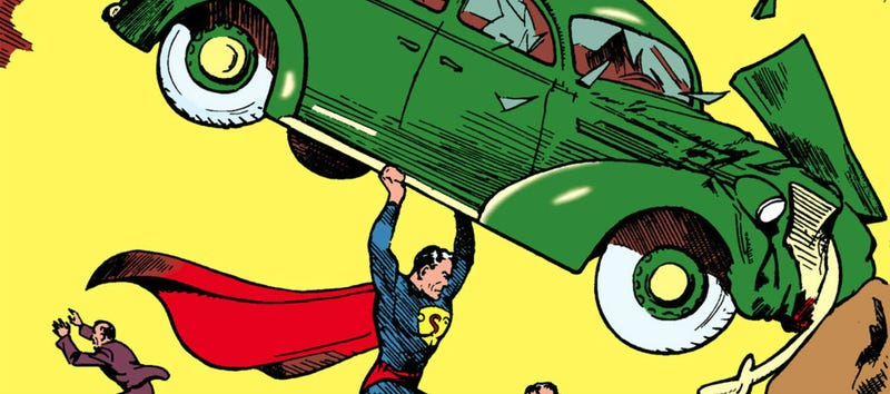 Action Comics #1, one of the most famous comic books of all time. A