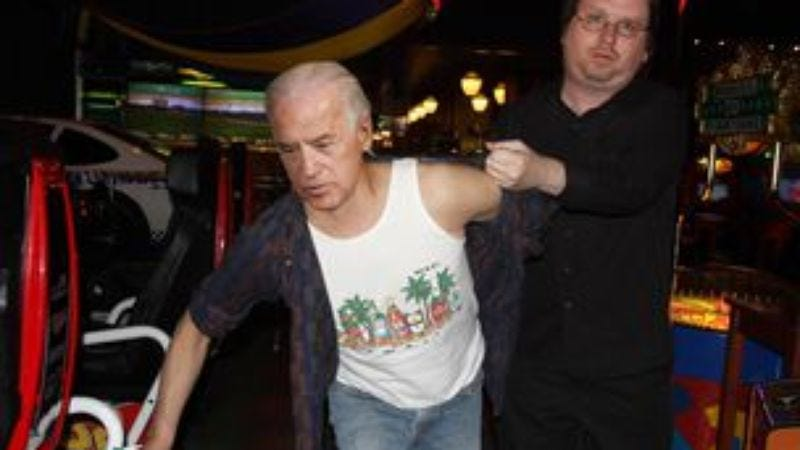 Illustration for article titled Biden Receives Lifetime Ban From Dave & Buster's