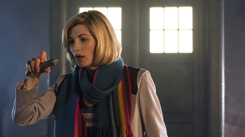 No matter how much you wave that sonic screwdriver about Doctor, those overnight figures aren't going to change... yet.