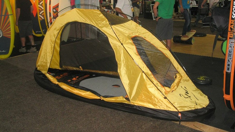 & Brave the Amazon With a Stand Up Paddleboard That Turns Into a Tent