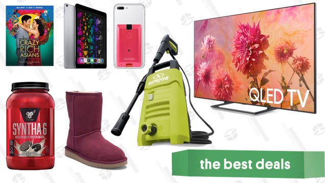 Tuesday s Best Deals: iPad Pro, Smart Scale, Uggs, Samsung TV, and More