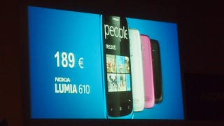 Illustration for article titled Nokia Lumia 610 Is Windows Phone 7 On the Cheap