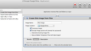 Illustration for article titled Drag-and-Drop To Automatically Encrypt Files in Google Drive Using Automator on Mac