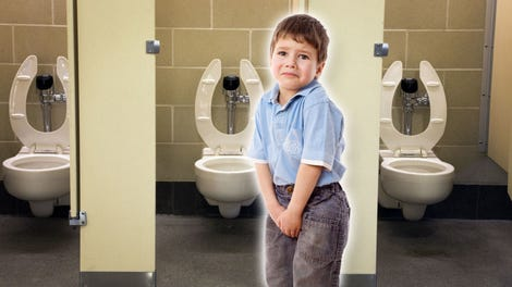 How to Keep the Automatic Flushing Toilet From Scaring the Crap Out of Your  Kid