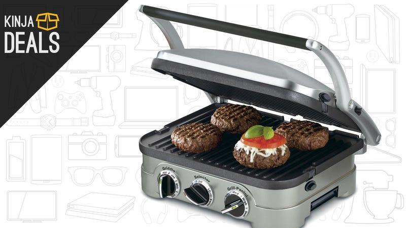 Illustration for article titled Cuisinart's Versatile Griddler Is On Sale For Just $50