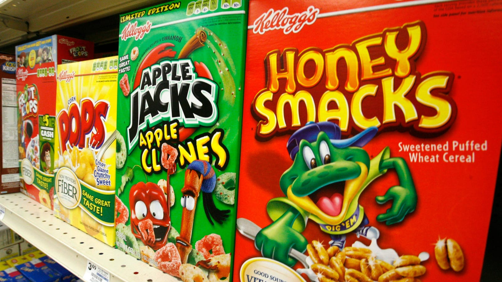 Honey Smacks Linked to Salmonella Outbreak Still on Store Shelves, FDA Says