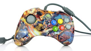 Illustration for article titled A Most Unusual Merry Marvel Video Game Controller