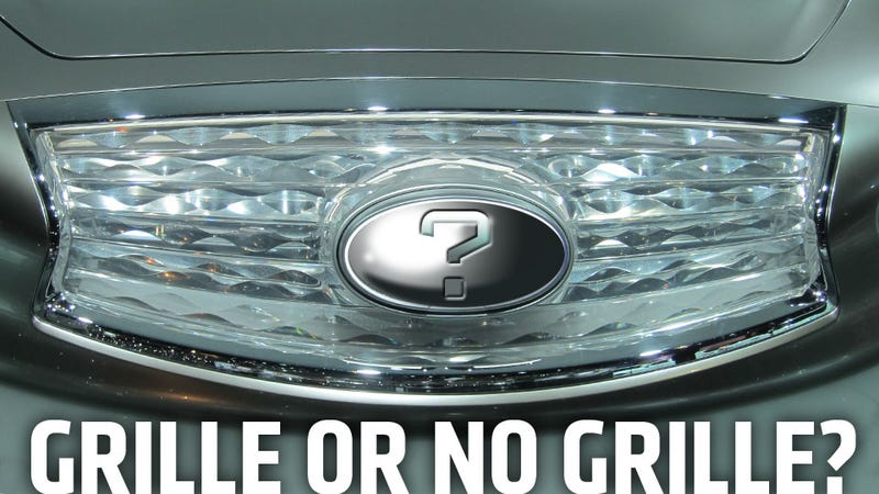 Illustration for article titled Why Do All These Electric Cars Have Grilles?