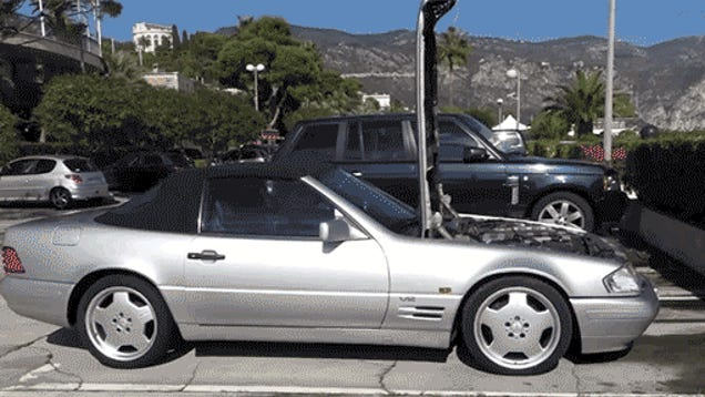 The 1993 Mercedes SL600 With The Zondas V12 Is Still Amazing
