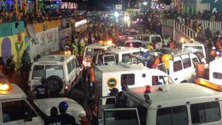 Emergency responders on the scene of the accidentInstagram/iamtico