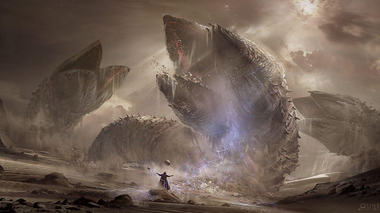 Los asombrosos bocetos de Dune que nos gustaría ver en el cine