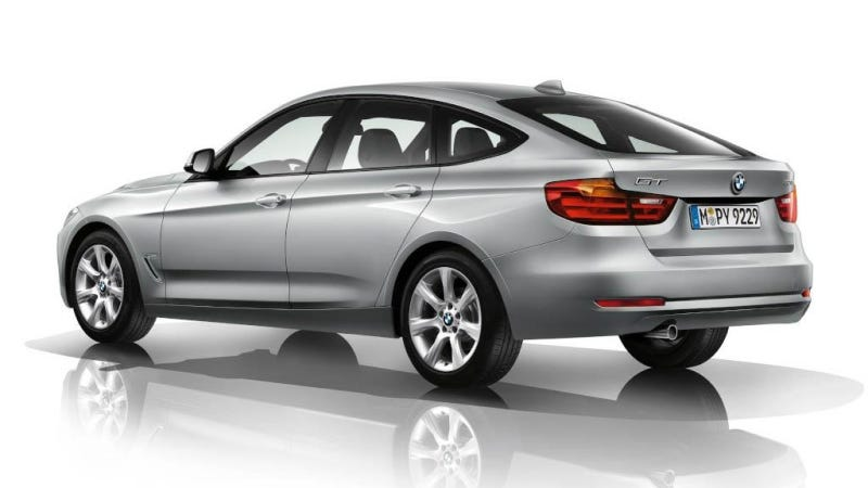 Illustration for article titled BMW 3 Series GT: This Is It