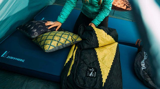 Camp In Comfort With a Deal On Therm-A-Rest's Plush