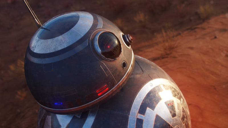 Illustration for article titled If Force Awakens' BB-8 Was A Bad Guy
