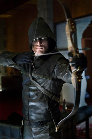 Illustration for article titled Arrow Promotional Photos