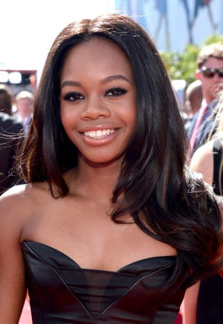 Gabrielle Douglas at the 2013 ESPY Awards in Los Angeles, July 17, 2013Alberto E. Rodriguez/Getty Images for ESPY