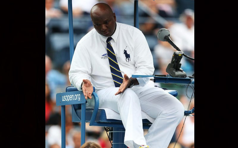 Photo: Tony Nimmons at the 2012 U.S. Open (Clive Brunskill/Getty)