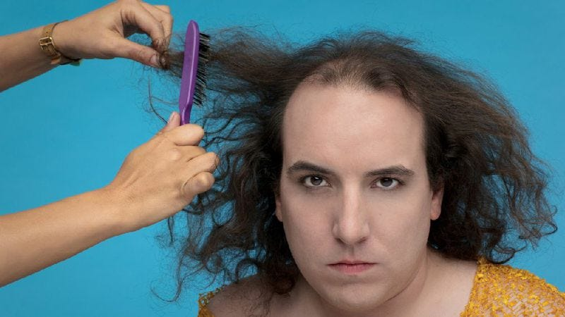 Illustration for article titled Sean Tillman's back to grin and bare it as Har Mar Superstar