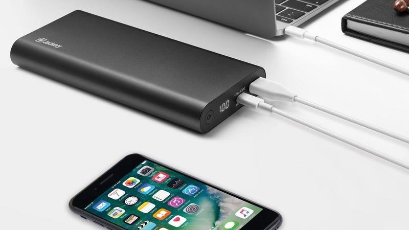 Jackery SuperCharge 45W USB-C PD Battery Pack | $60 | Amazon