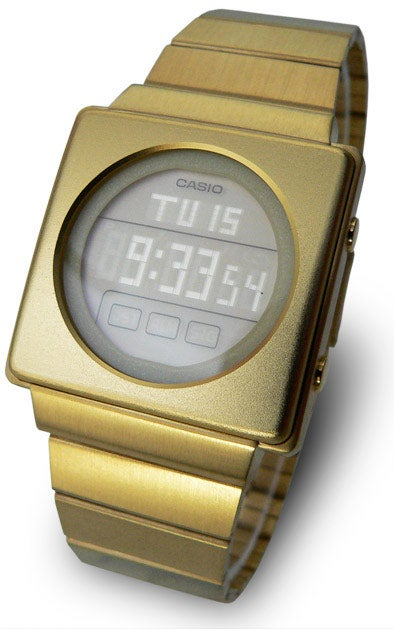 Illustration for article titled Casio Futurist Watch Would Get Goldfinger All Excited