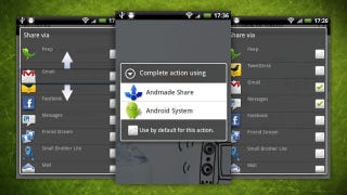 Illustration for article titled Andmade Share Replaces Android's Default Share Menu with a More Powerful One
