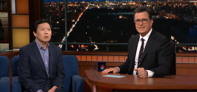 Ken Jeong, Stephen Colbert
