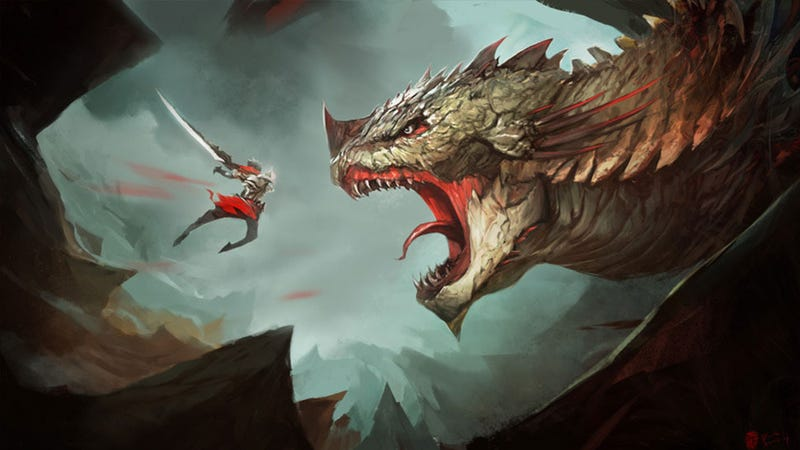 Illustration for article titled How To Get Eaten By A Giant Freakin' Dragon