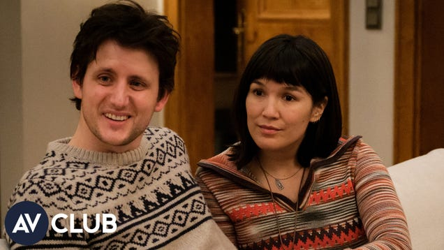 Zach Woods and Zoe Chao on playing foils in Downhill's climactic fight scene