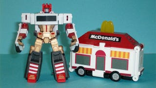 Illustration for article titled A Transformer to Light a Big Mac's Darkest Hour