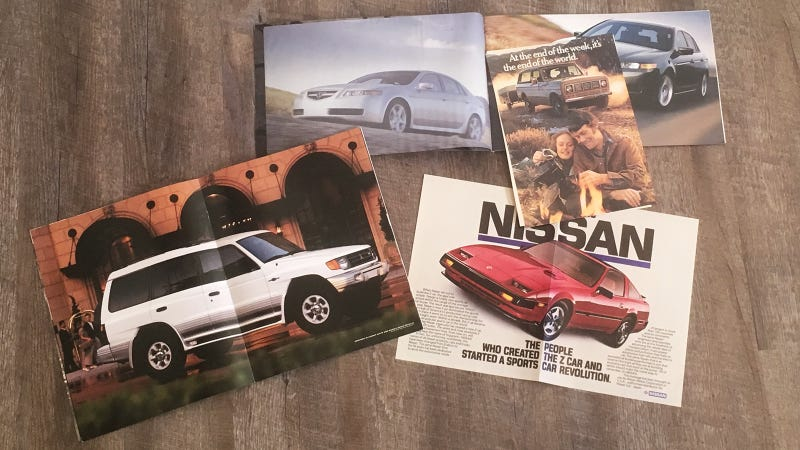 Some of the best exhibits in my car brochure collection.