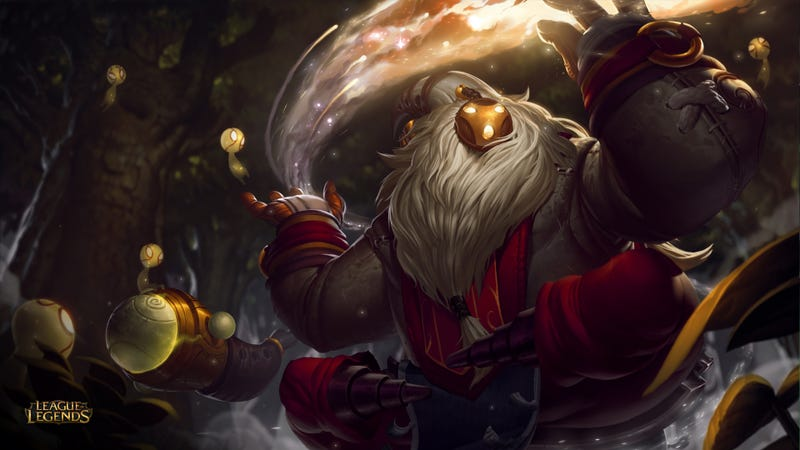 Illustration for article titled The Bard Is League Of Legends' Newest Champion